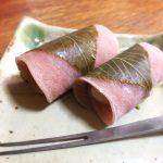 サクランボの葉で塩漬けを作ってみた